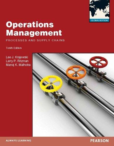 Operations Managment: Processes and Supply Chains with MyOMLab: Global Edition