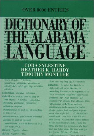 Dictionary of the Alabama Language