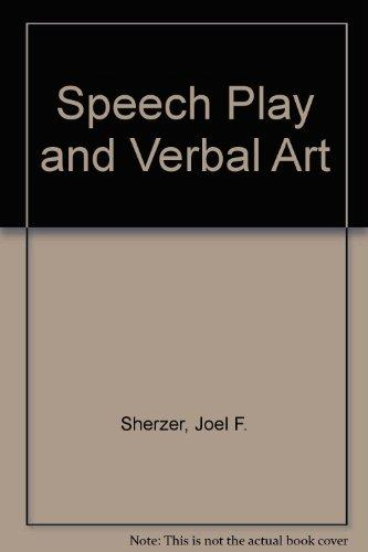 Speech Play and Verbal Art