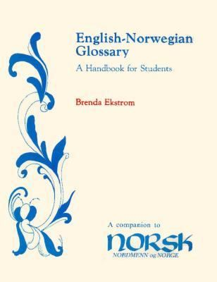 English-Norwegian Glossary A Handbook for Students