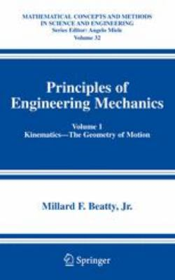 Principles of Engineering Mechanics Kinematics--The Geometry of Motion