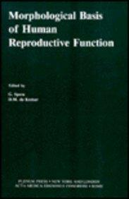 Morphological Basis of Human Reproductive Function