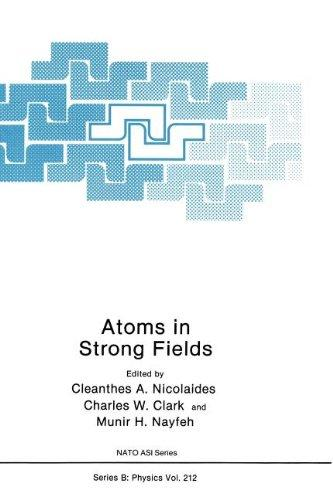 Atoms in Strong Fields (Nato Science Series B:)