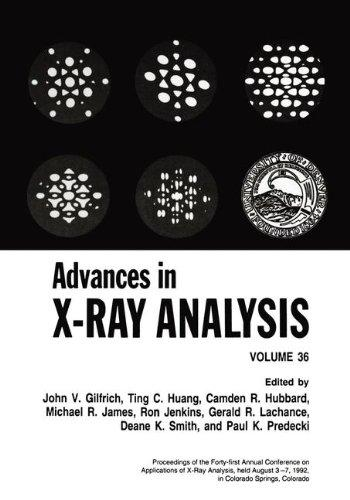 Advances in X-Ray Analysis, Vol. 36