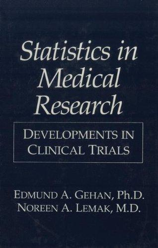 Statistics in Medical Research: Developments in Clinical Trials