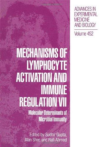 Mechanisms of Lymphocyte Activation and Immune Regulation Vii: Molecular Determinants of Microbial Immunity