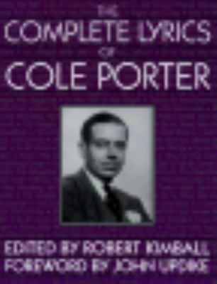 Complete Lyrics of Cole Porter