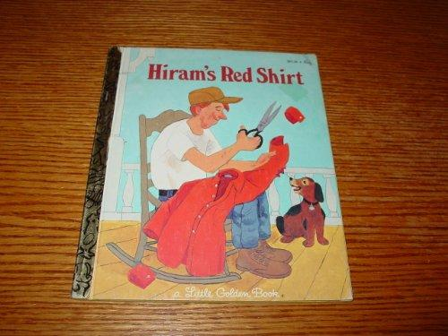Hiram's red shirt (A Little golden book)