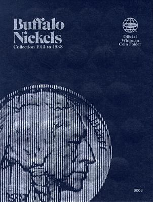 Coin Folders Nickels Buffalo, 1913-1938