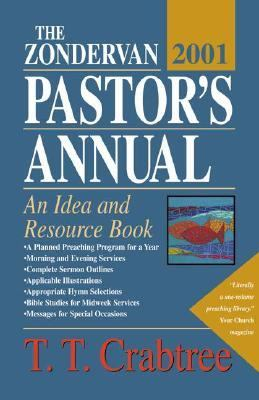 Zondervan 2001 Pastor's Annual An Idea and Resource Book