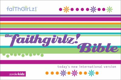 Faithgirlz! Bible Today's New Internation Version, Purple Fussie Cover