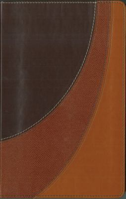 Amplified Bible New International Version, Chocolate/carmel/tan, Italian Duo-tone, Seasonal