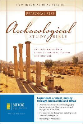 Archaeological Study Bible New International Version, Personal Size, an Illustrated Walk Through Biblical History and Culture