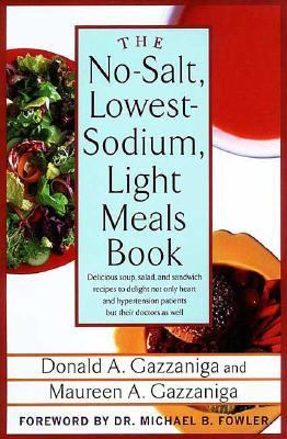 No-Salt, Lowest-Sodium Light Meals Book