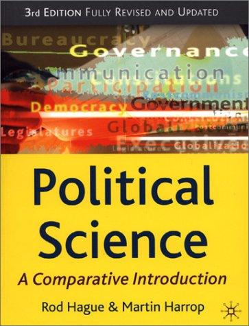 Political Science, Third Edition: A Comparative Introduction