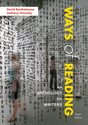 Ways of Reading: An Anthology for Writers
