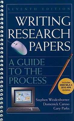Writing Research Papers with 2009 MLA and 2010 Updates : A Guide to the Process