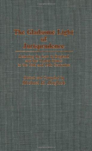 The Gladsome Light of Jurisprudence: Learning the Law in England and the United States in the 18th and 19th Centuries (Bio-Bibliographies in Music)