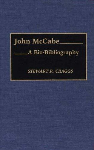 John McCabe: A Bio-Bibliography (Bio-Bibliographies in Music)