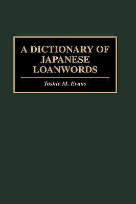 Dictionary of Japanese Loanwords
