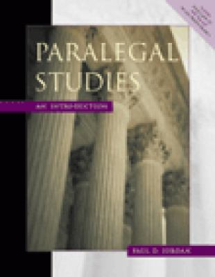 Paralegal Studies An Introduction