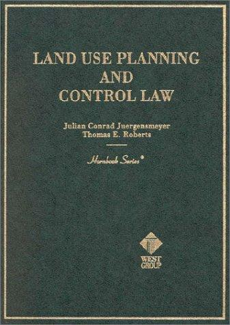 Land Use Planning and Control Law Hornbook (Hornbooks)