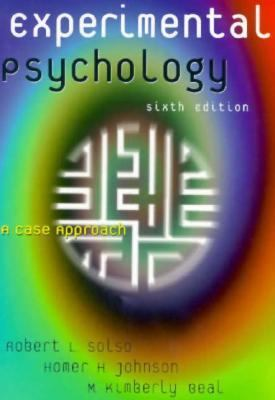 Experimental Psychology :??A Case Approach