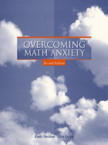 Overcoming Math Anxiety (2nd Edition)