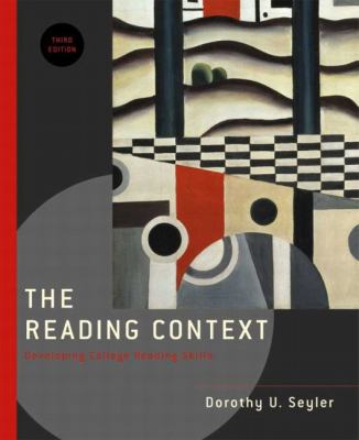 Reading Context Developing College Reading Skills