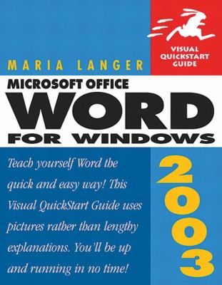Microsoft Office Word for Windows 2003