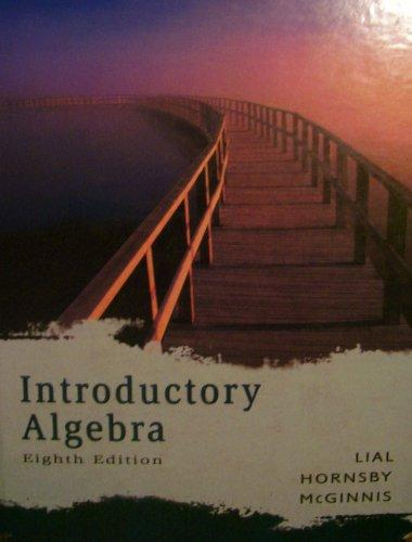 Introductory Algebra (8th Edition)