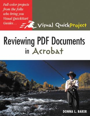 Reviewing PDF Documents In Acrobat Visual QuickProject Guide