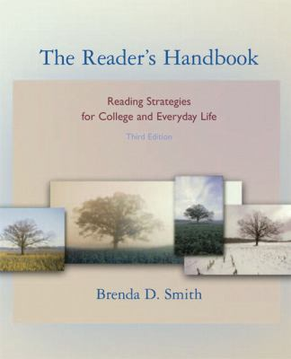 The Reader's Handbook: Reading Strategies for College and Everyday Life (book alone) (3rd Edition)