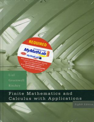 Finite Mathematics and Calculus with Applications - With Mymatnlab