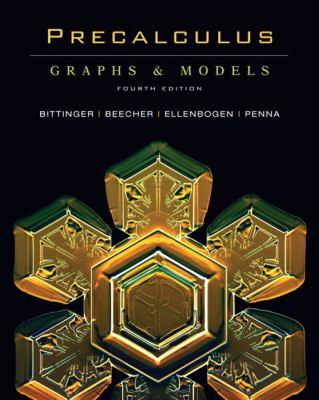 Precalculus: Graphs & Models and Graphing Calculator Manual Package (4th Edition) (Bittinger Graphs & Models Series) (Hardcover)