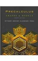 Precalculus: Graphs and Models plus MyMathLab Student Access Kit (4th Edition)