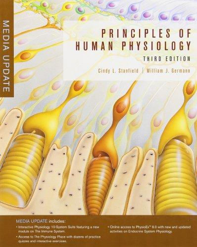 Principles of Human Physiology, Media Update (3rd Edition)