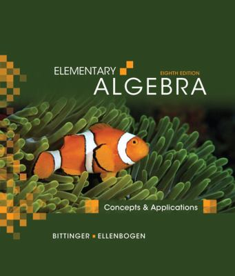 Elementary Algebra: Concepts and Applications (8th Edition)