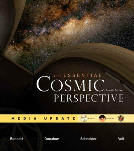 Essential Cosmic Perspective Media Update Value Pack (includes Lecture Tutorials for Introductory Astronomy & Starry Night Pro 6 Student DVD ) (4th Edition)