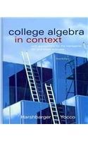 College Algebra in Context with Applications for the Managerial, Life, and Social Sciences plus MyMathLab Student Access Kit (3rd Edition)