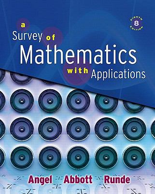 Survey of Mathematics with Applications Value Pack (includes Student's Solutions Manual for A Survey of Mathematics with Applications & Video Lectures ... A Survey of Mathematics with Applications)