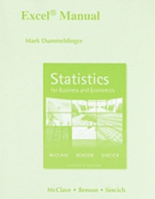 Excel Manual for Statistics for Business and Economics