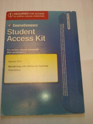 CourseCompass Student Access Kit for Microbiology with Diseases by Taxonomy (3rd Edition)