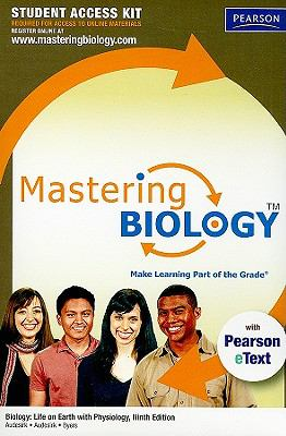 MasteringBiology with Pearson eText Student Access Kit for Biology: Life of Earth with Physiology (9th Edition)