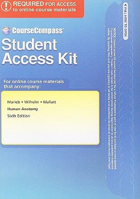 CourseCompass Student Access Kit for Human Anatomy