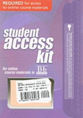 Blackboard Student Access Kit for Mcknight's Physical Geography : A Landscape Appreciation