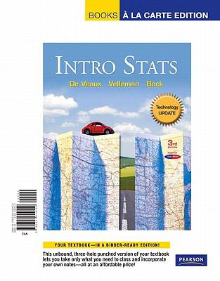 Intro Stats Technology Update,  Books a la Carte Edition (3rd Edition)