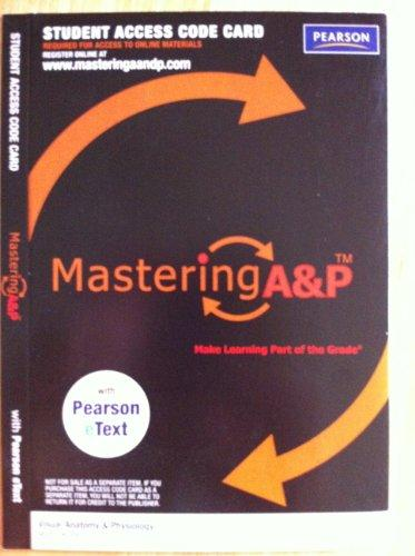 Mastering A&p Student Access Code Card (Visual Anatomy & Physiology)