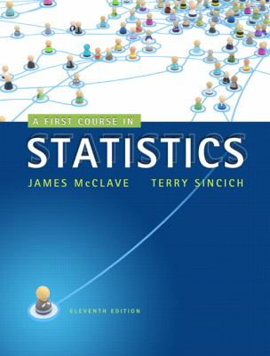 A First Course in Statistics (11th Edition)