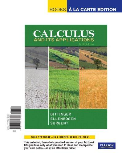 Calculus with Applications, Books a la Carte Plus MML/MSL -- Access Card Package (10th Edition)